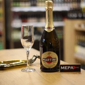 Игристое вино «Мартини Просекко» сух, Италия