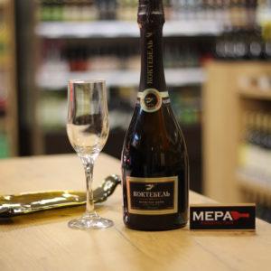 Вино игристое «Коктебель», брют , Крым