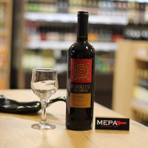 Вино «Espiritu De Chili Shiraz» красное сух.