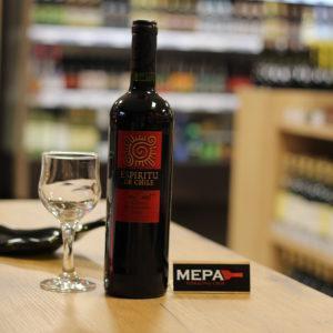 Вино «Espiritu De Chili Cabernet Sauvignon» красное п/сл