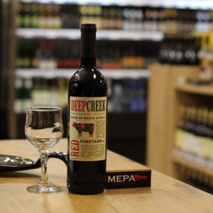 Вино «Deep Creek, Pinotage» красное сух
