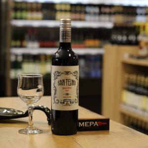 Вино «San Telmo, Malbec» красное п/сл