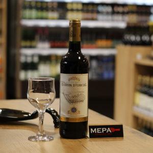 Вино «Baron D'Orcel, VDCE Rouge Moelleux» красное п/сл
