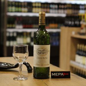 Вино «Chavron Moelleux, Blanc» белое п/сл
