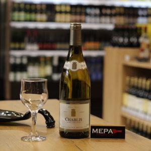 Вино «Shablis, Aoc» белое сух