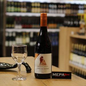 Вино The Pairing Collection «Chicken & Turkey, Cotes du Rhone» красное сух