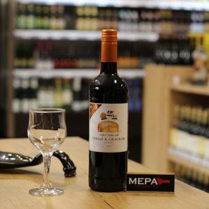Вино The Pairing Collection «Cheese & Crackers, Merlot» красное сух