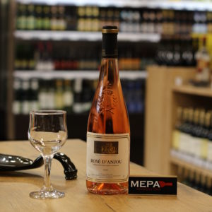 Вино «Rose d'Anjou» розовое п/сл