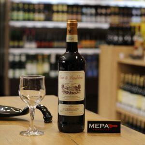 Вино «Bordeaux, Tour de Mandelotte» красное сух