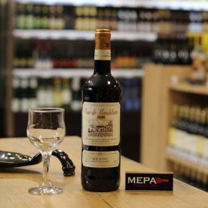 Вино «Medoc, Tour de Mandelotte» красное сух