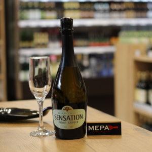 Вино игристое «Sensation Spumante, Grande Cuvee, Pinot Grigio» белое сух, Италия