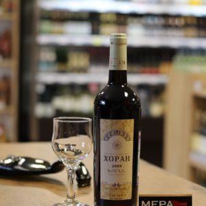 Вино «Vedi Alko, Хоран» красное сух