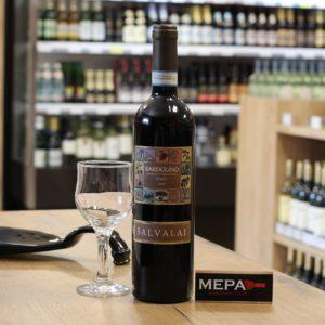 Вино «Salvalai, Bardolino Classico» красное п/сух