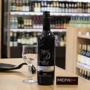 Вино «Duca della Rocca, Primitivo» красное п/сух