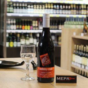Вино «Wallaby Creek, Cabernet Sauvignon» красное, сухое