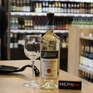 Вино «Pirovano, Pinot Grigio» белое сух