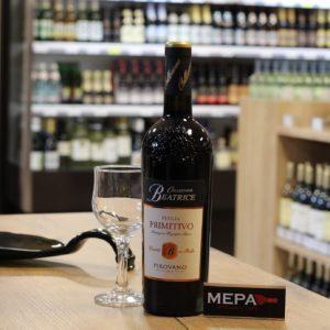 Вино «Pirovano, Primitivo» красное сух