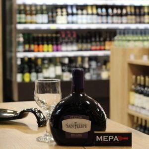 Вино Аргентина «San Felipe, 12 Uvas» красное сух