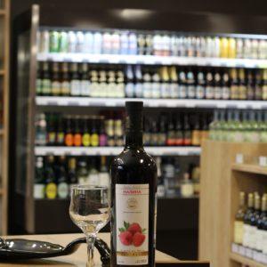 Вино фруктовое «Vedi Alko, Малина»