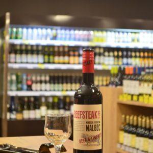 Вино «Beefsteak Club, Beef & Liberty, Malbec»