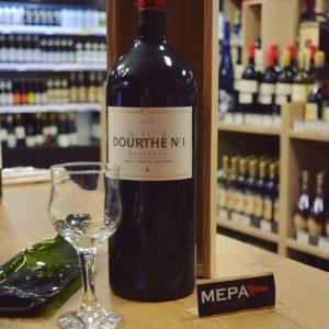 Вино «Dourthe №1» Merlot-Cabernet Sauvignon, красное, сухое.